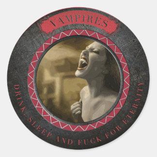 Vampire's Seal - Supernatural Sticker