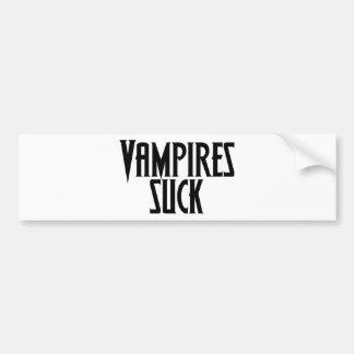 Vampires Suck Bumper Stickers