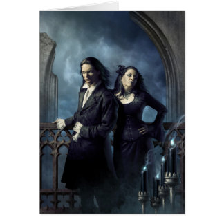 Vampiric Nobility Greeting Card