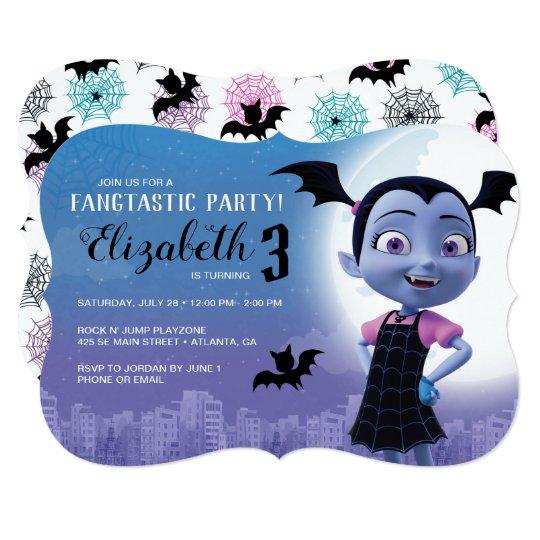 6 PC Disney Vampirina Balloon Set Kids Birthday Halloween Party Vee Vampire Girl