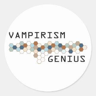 Vampirism Genius Sticker