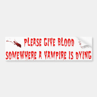 Vamps Bumper Sticker