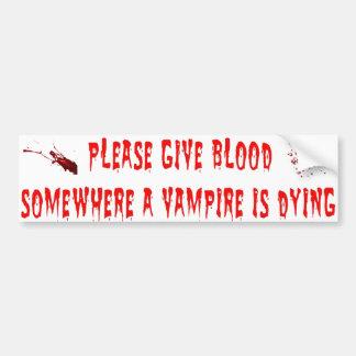 Vamps Bumper Sticker