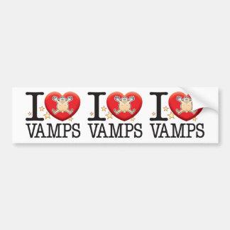 Vamps Love Man Bumper Sticker