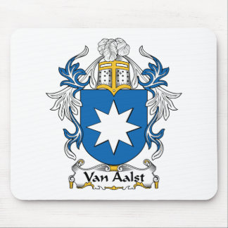 Van Aalst Family Crest Mouse Pad