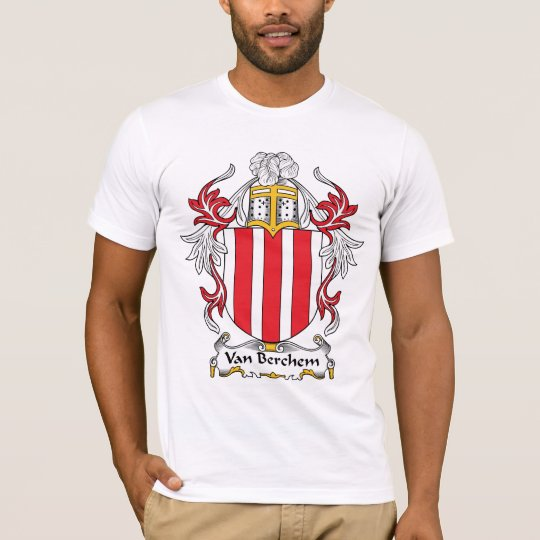 Van Berchem Family Crest T-Shirt