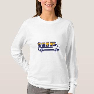 Van City Skyline Retro T-Shirt