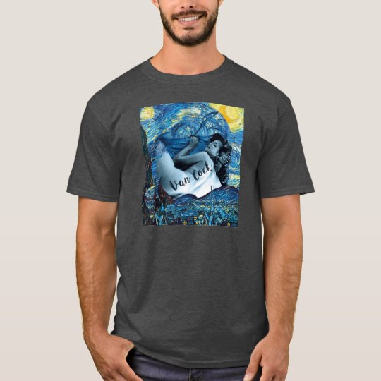 Van Cock Starry Night | INCOGUTO T-Shirt