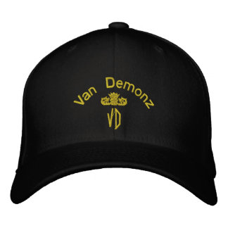 Van Demonz Gold Edition Embroidered Hat