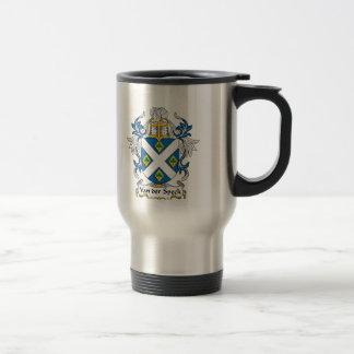Van der Speck Family Crest Coffee Mug