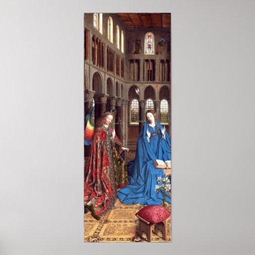 Van Eyck: The Annunciation Print