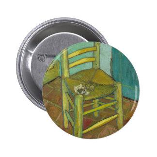 Van Gogh 2 Inch Round Button
