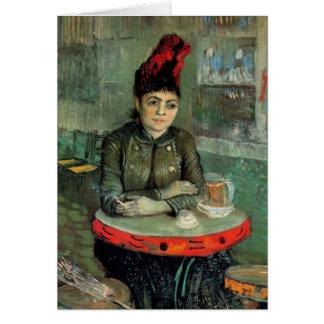 Van Gogh Agostina Segatori Sitting, Cafe Tambourin Card