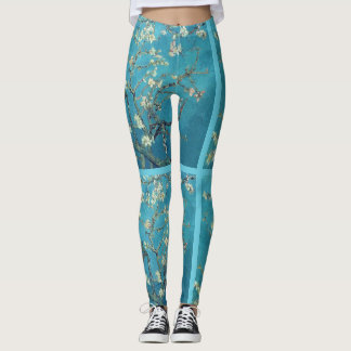 Van Gogh Almond Blossom Fine Art Leggings Pants