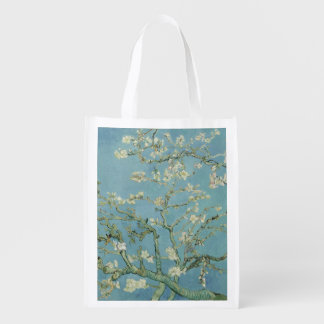 Van Gogh Almond blossom Reusable Grocery Bag