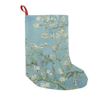 Van Gogh Almond blossom Small Christmas Stocking