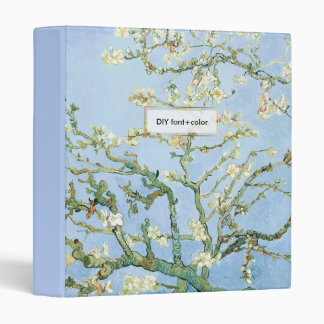 Van Gogh Almond Blossoms Binder