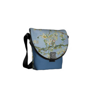 Van Gogh Almond Blossoms Courier Bag