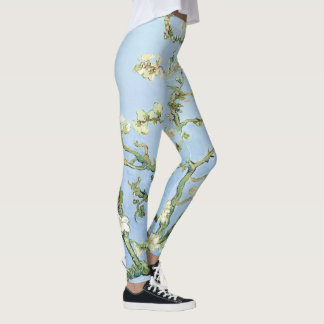 Van Gogh Almond Blossoms Leggings