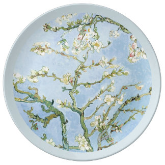 Van Gogh Almond Blossoms Plate
