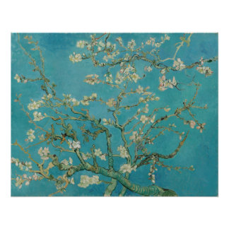 Van Gogh Almond Blossoms Poster