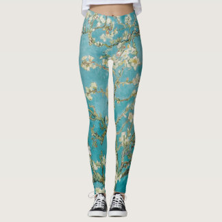 Van Gogh Almond Blossoms/Purple/St. Remy Leggings
