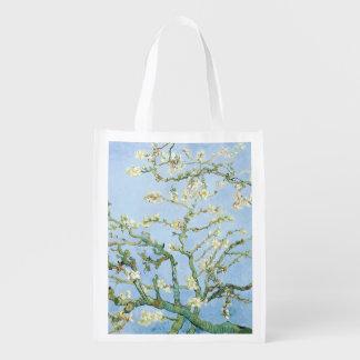 Van Gogh Almond Blossoms Reusable Grocery Bag