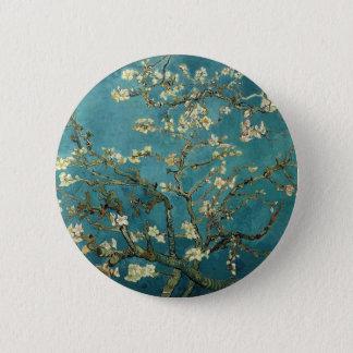 Van Gogh Almond Branches In Bloom 2 Inch Round Button