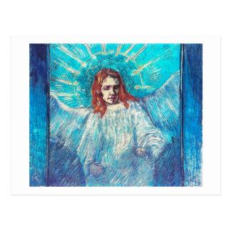 Van Gogh Angel (F624) Half-Figure(after Rembrandt) Postcards