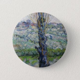 Van Gogh Art 2 Inch Round Button