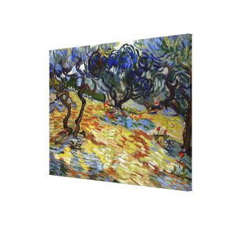 Van Gogh artwork, The Garden of Gethsemane Canvas Print