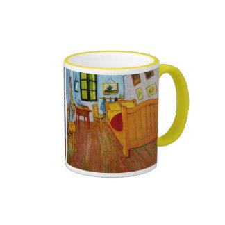 Van Gogh Bedroom in Arles (F482) Fine Art Ringer Mug