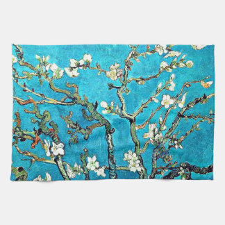 Van Gogh - Blossoming Almond Branches Kitchen Towel