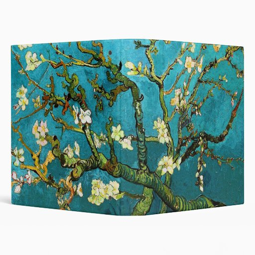 Van Gogh Blossoming Almond Tree (F671) Fine Art Vinyl Binder
