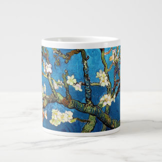 Van Gogh Blossoming Almond Tree Fine Art Large Coffee Mug