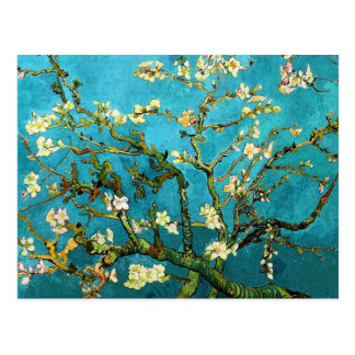Van Gogh Blossoming Almond Tree Fine Vintage Postcard