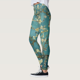 Van Gogh: Blossoming Almond Tree Leggings