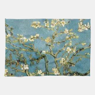 Van Gogh Blossoming Almond Tree Vintage Art Kitchen Towel