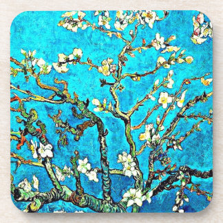Van Gogh - Branches with Almond Blossoms Coasters