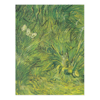 Van Gogh | Butterflies | New address Postcard