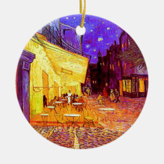 Van Gogh Cafe Terrace at Night Ceramic Ornament