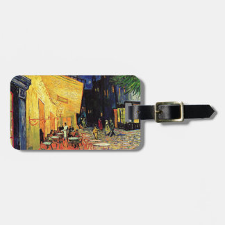 Van Gogh Cafe Terrace At Night Luggage Tag