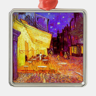 Van Gogh Cafe Terrace at Night Metal Ornament