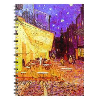 Van Gogh Cafe Terrace at Night Notebook