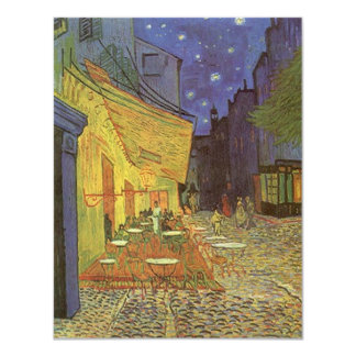 Van Gogh Cafe Terrace At Night Party Invitation