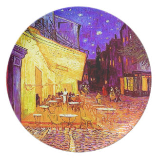 Van Gogh Cafe Terrace at Night Plate