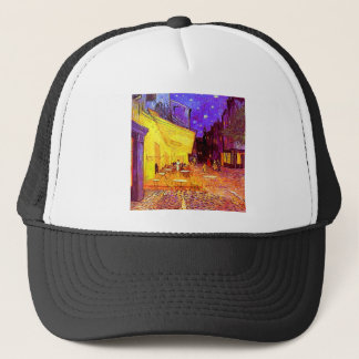 Van Gogh Cafe Terrace at Night Trucker Hat