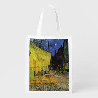 Van Gogh; Cafe Terrace at Night Market Tote