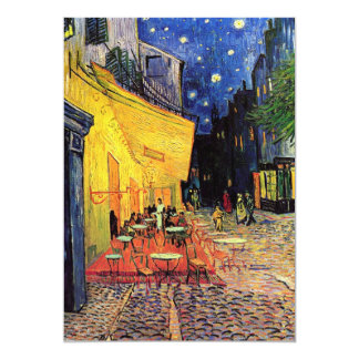 Van Gogh Cafe Terrace on Place du Forum, Fine Art Card
