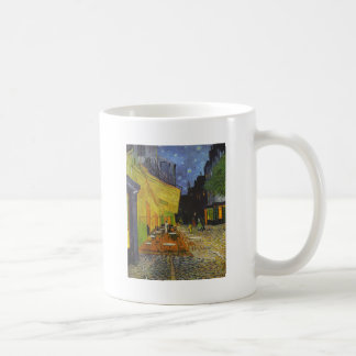 Van Gogh Cafe Terrace Post-Impressionist Classic White Coffee Mug